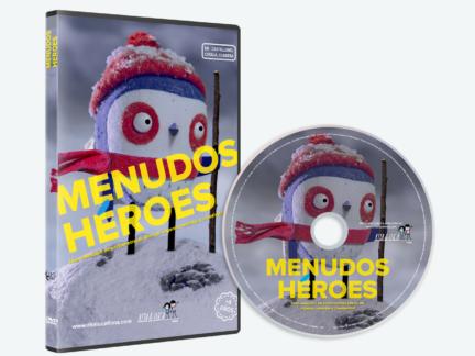 DVD Menudos Héroes