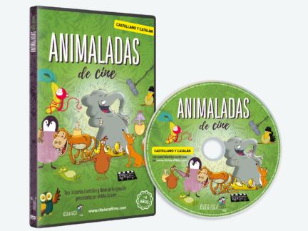 DVD Animaladas de cine